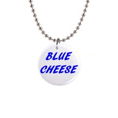 Blue Cheese Button Necklaces