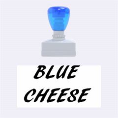 Blue Cheese Rubber Stamps (Medium)