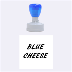 Blue Cheese Rubber Round Stamps (Medium)