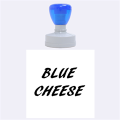 Blue Cheese Rubber Round Stamps (Large)