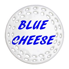 Blue Cheese Ornament (Round Filigree)