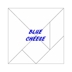 Blue Cheese Acrylic Tangram Puzzle (6  X 6 )