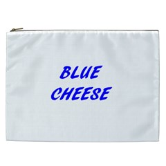 Blue Cheese Cosmetic Bag (XXL)