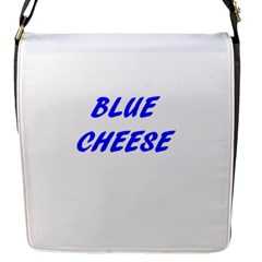 Blue Cheese Flap Messenger Bag (S)