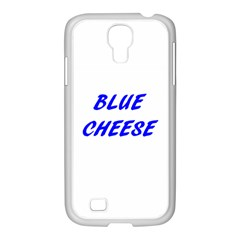 Blue Cheese Samsung GALAXY S4 I9500/ I9505 Case (White)