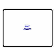 Blue Cheese Double Sided Fleece Blanket (Small)