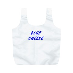Blue Cheese Full Print Recycle Bags (M)