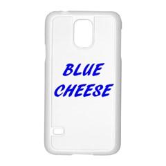 Blue Cheese Samsung Galaxy S5 Case (White)