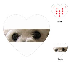 Bolognese Eyes Playing Cards (Heart)