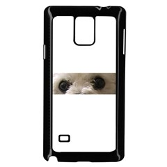 Bolognese Eyes Samsung Galaxy Note 4 Case (Black)