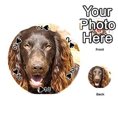 Boykin Spaniel Playing Cards 54 (Round)