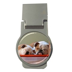 2 Sleeping Bulldogs Money Clips (Round)