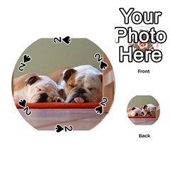 2 Sleeping Bulldogs Playing Cards 54 (Round)
