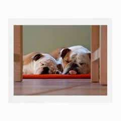 2 Sleeping Bulldogs Small Glasses Cloth (2-Side)