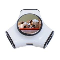 2 Sleeping Bulldogs 3-Port USB Hub