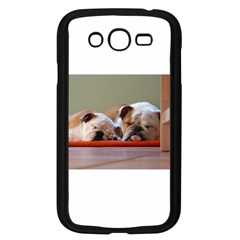 2 Sleeping Bulldogs Samsung Galaxy Grand DUOS I9082 Case (Black)