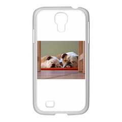 2 Sleeping Bulldogs Samsung GALAXY S4 I9500/ I9505 Case (White)
