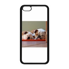 2 Sleeping Bulldogs Apple iPhone 5C Seamless Case (Black)