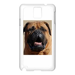 Bullmastiff Samsung Galaxy Note 3 N9005 Case (White)