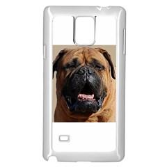 Bullmastiff Samsung Galaxy Note 4 Case (White)