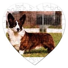 Cardigan Welsh Corgi Full Jigsaw Puzzle (Heart)