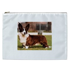 Cardigan Welsh Corgi Full Cosmetic Bag (XXL)
