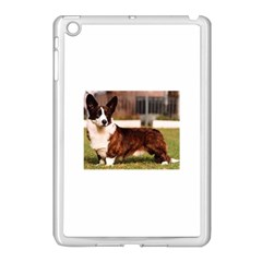 Cardigan Welsh Corgi Full Apple iPad Mini Case (White)