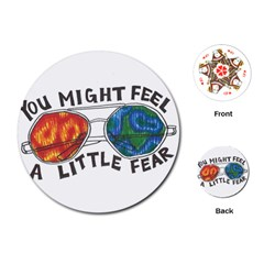 Little fear Playing Cards (Round)