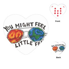 Little fear Playing Cards (Heart)
