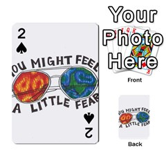 Little fear Playing Cards 54 Designs