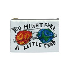 Little fear Cosmetic Bag (Medium)