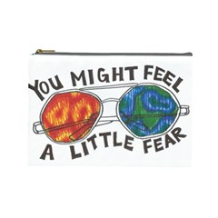 Little fear Cosmetic Bag (Large)