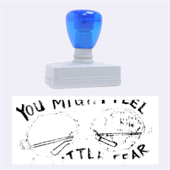 Little fear Rubber Stamps (Large)
