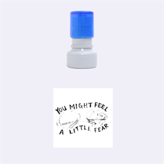 Little Fear Rubber Round Stamps (small)