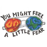 Little fear WORK HARD 3D Greeting Card (7x5)  Front