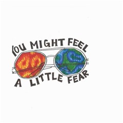 Little Fear Small Garden Flag (two Sides)