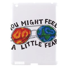 Little fear Apple iPad 3/4 Hardshell Case (Compatible with Smart Cover)