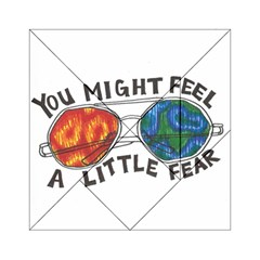 Little Fear Acrylic Tangram Puzzle (6  X 6 )