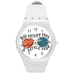Little fear Round Plastic Sport Watch (M)