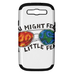 Little fear Samsung Galaxy S III Hardshell Case (PC+Silicone)