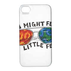 Little fear Apple iPhone 4/4S Hardshell Case with Stand