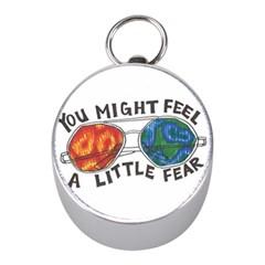 Little Fear Mini Silver Compasses