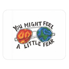 Little Fear Double Sided Flano Blanket (large)