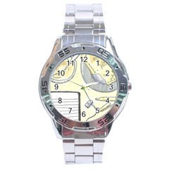 Tearespite Stainless Steel Men s Watch