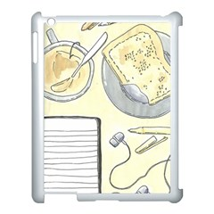Tearespite Apple iPad 3/4 Case (White)