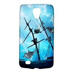 Awesome Ship Wreck With Dolphin And Light Effects Galaxy S4 Active