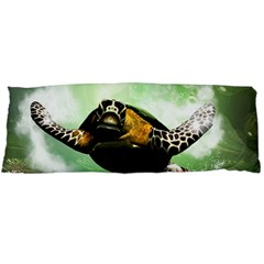 Wonderful Sea Turtle With Bubbles Body Pillow Cases Dakimakura (two Sides)