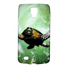 Wonderful Sea Turtle With Bubbles Galaxy S4 Active