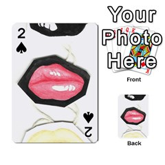 Troislips0002 Playing Cards 54 Designs