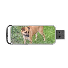 Carolina Dog Full 2 Portable USB Flash (Two Sides)